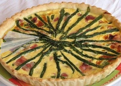 Quiche asparagi